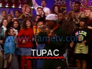 Lost footage of Tupac Shakur on iFame Tv circa 1992